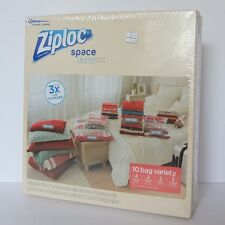 Ziploc Space Bag—10 bag variety pack—retail price was $39.99—new, factory sealed