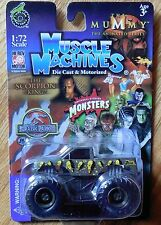 MUSCLE MACHINES The Mummy Monster Truck Mosc New 1:72
