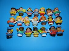 FISHER PRICE LITTLE PEOPLE LOT OF 21 FIGURES