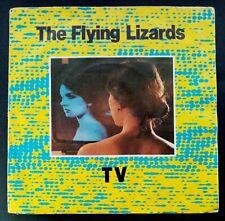 """The Flying Lizards TV / Tube UK Vinyl 7 """" 45 Virgin 1980"""