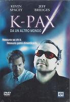 Dvd **K-PAX ~ DA UN ALTRO MONDO** con Kevin Spacey Jeff Bridges nuovo 2002