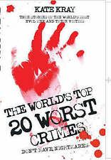 The World's Top Twenty Worst Crimes, Kate Kray, New Book