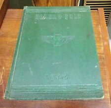 1944 Black and Gold Winston-Salem High Schools North Carolina Yearbook 3 Schools