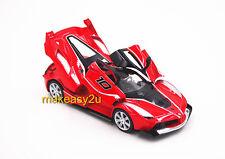 1:32 Ferrari FXX K Diecast Model Car Sound Light Pullback New Without Box Red