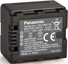 Genuine Panasonic VW-VBN130 Original Battery HDC-HS900 TM900 7.2V 1500mAh  (A42)