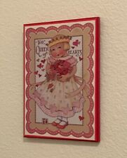 """Mary Engelbreit Colorplak Collection Wall Art """"The Queen of Hearts!""""- Vintage"""