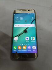 Samsung Galaxy S6 - 32GB-Edge Oro Platino (Sbloccato) Smartphone ** DIFETTOSO **
