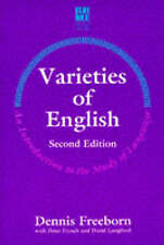 Varieties of English: An Introduction to the Study of Language NEW BOOK