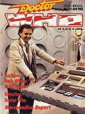 DOCTOR WHO MAGAZINE #132 NICK MALLET, PANOPTICAN EIGHT, TIME AND THE RANI