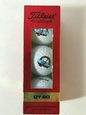 Vintage Titleist DT90 # 2, 1993 US Women's Open, One Sleeve of 3 Golf Balls. NOS