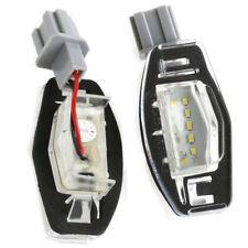 High-Quality 2x 18LED license lamp for 99-14 Honda Accord CRV/Acura MDX TL TSX