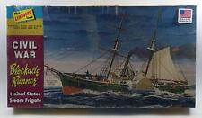 Lindberg HL401/06 Civil War Blockade Runner 1/124 Scale Plastic Model Kit