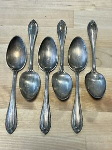 Vintage Antique Towle Sterling Silver Silver Spoon Lot (6) .925 No Reserve Price