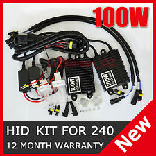 100W HID Xenon Slim Kit 6000K for LIGHTFORCE 240 Blitz 170 Striker Driving Light