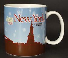 Starbucks Coffee New York Happy Holidays 2009 Mug 16 oz Christmas