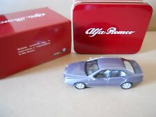 ALFA ROMEO Alfa 166  1998 1:43 Die Cast Model SOLIDO in metal box  [MV00]