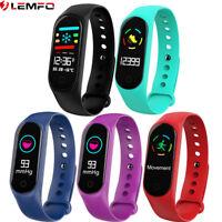 Lemfo M3 Montre Intelligente Junior Etanche Cardiofréquencemètre For Huawei IOS