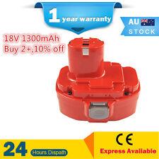 1.3Ah 18V battery for Makita 18V PA18 drill 8391DWPE 8443D 6391DWPE 5046DWF AU!