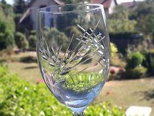 Cristal d'Arques  Epi Fleury  4  verres à Eau   pied torsadé  VINTAGE