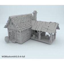 Winterdale Blacksmith 28mm Tabletop Games Dwarven Forge D&D Terrain Wargaming