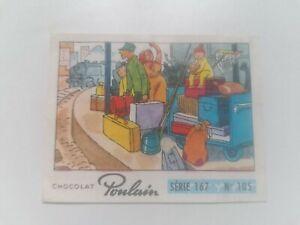 Vignette image Chocolat Poulain Série 167 N°105 ENFIN LES VACANCES