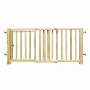 """Four Paws Smart Design Walkover Pressure Mounted Gate with Door Beige 30"""" - 44"""""""