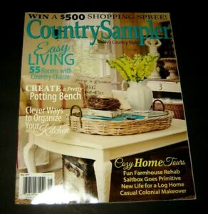 Country Sampler, Today's Country Style  Simply Country May, 2017