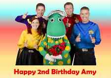 Personalised A4 The Wiggles Edible Wafer Paper Cake Topper