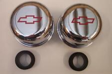 1 Pair of Bowtie valve cover breather Chevy Nova Chevelle Camaro sbc bbc