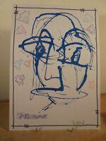 Art Contemporain Art Brut Art Singulier 4004 Oeuvre originale signée Jicé 19/10
