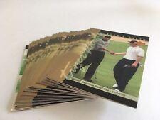 Upper Deck Golf Tiger Tales 2001 TW 30 Card Set