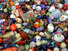 One-Stop-Bead-Shop-4-U House MIX Glass BEADS LOT - One POUND
