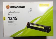 OfficeMax - Replaces HP 1215 CB542A Compatible Laser Toner Cartridge YELLOW