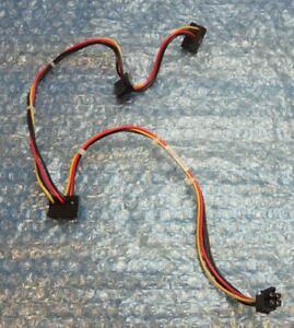 HP Elite 8000, 8100, 8200, 8300, Pro 6000 SFF 4-Pin to 3 x SATA Cable 577494-001