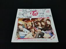 Twice 1st Mini The Story Begins Autographed Album All Member Signed Promo CD