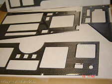 CHEVROLET CHEVY CORVETTE C4 C-4 REAL CARBON FIBER DASH TRIM KIT 1986 1987 88 89