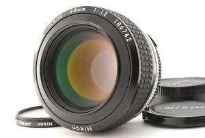 TOP MINT / NIKON Ai-S Noct-NIKKOR 58mm F1.2 Rare Ais Lens from Japan #0357