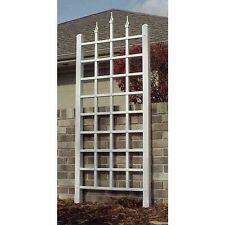Vinyl Lattice Panel Garden Yard Trellis Outdoor Climbing Plant Wall Fence Frame