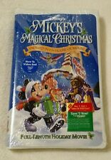 Disney's Mickey's Magical Christmas Snowed In at the House Of Mouse VHS SEALED
