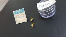 231014 GENUINE THIRD WHEEL & PINION SEIKO MONACO 7015