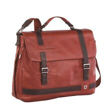Piquadro Red Wink small briefcase; strap opening, 1 flap, organized CA2373W37/AR