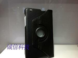 """Cover Rotate for LG G Pad 8.3"""" V500 Tablet 360 Folio Leatheroid Stand Case black"""