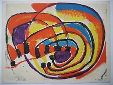 BOLIN GUSTAV LITHOGRAPHIE 1972 SIGNÉE CRAYON NUM/99 HANDSIGNED NUMB LITHOGRAPH
