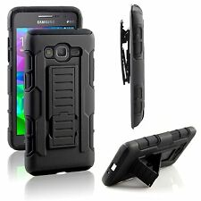 For Samsung Galaxy Grand Prime G530 iRob Hybrid Belt Clip Holster Case