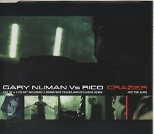 GARY NUMAN vs RICO Crazier 4 TRACK CD NEW - NOT SEALED