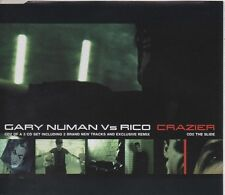 GARY NUMAN vs RICO Crazier 4 TRACK CD NEW - NOT SEALED