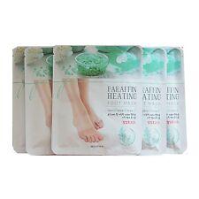 Missha Home Paraffin Heating Foot Mask 5 pairs Socks Type Foot Moisturizing