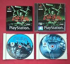 Evil Dead: Hail to the King - PLAYSTATION - PSX - USADO - MUY BUEN ESTADO