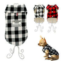 Soft Cotton Padded Dog Clothes Fleece Small Dogs Jacket Coat for Dachshund S-XXL