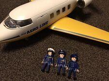 PLAYMOBIL 3185 Jet Avion (avion) interrompu